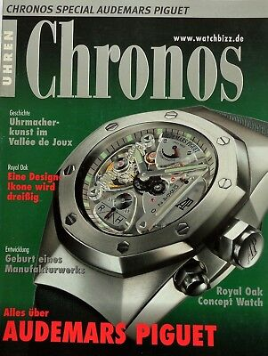 7199) Chronos Uhr Watch Magazin Special Audemars Piguet Royal Oak usw. 2002