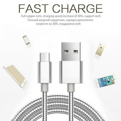 New Heavy Duty unbreakable USB charging cable cord for ,Samsung Type c Apple UK