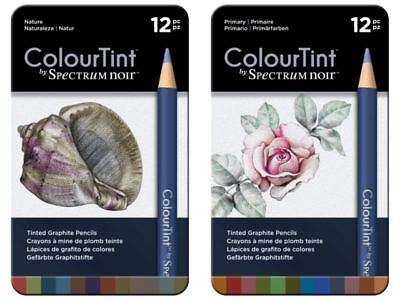 Spectrum Noir - ColourTint Arts & Crafts Pencil Set - Nature + Primary (24pk)