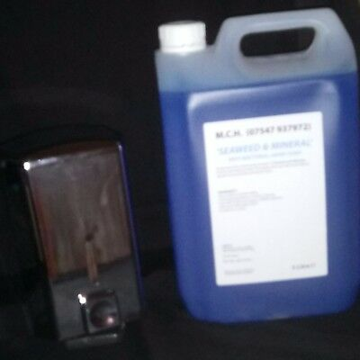 5Litre Seaweed And Mineral Hand Soap Plus Lockable Soap Dispenser