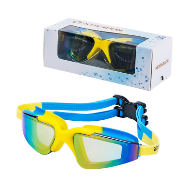 Swim Goggles Anti Fog UV Protection Water Proof for Kid Youth Adults Water Sport