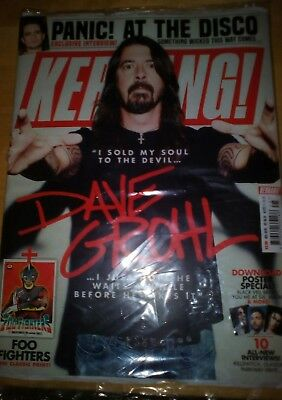 Kerrang 1727 23rd June 2018 David Grohl Foo Fighters on the cover
