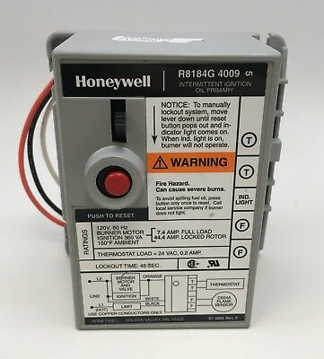 Honeywell Oil Burner Primary Control Wiring Diagram - Wire ... on