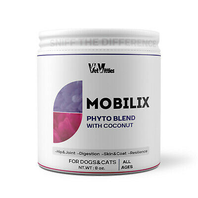 VetVittles MobiliX Joint and Mobility Support Superfood for Dogs and Cats, 8 oz