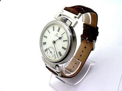 OMEGA #2 ART-DECO STYLE 1908's, BEAUTIFUL AND RARE EXCLUSIVE WRISTWATCHES