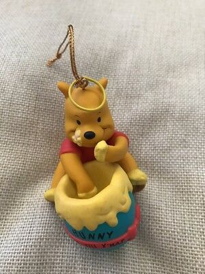 disney grolier winnie the pooh christmas decoration ornament honey hunny - Winnie The Pooh Christmas Decorations