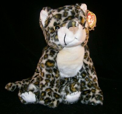 fe4ba015d2a TY BEANIE BABIES SUNDAR The Snow Leopard WWF Ty Exclusive Mint with ...