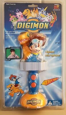 "Digital Digimon Monster 2000 radio shack sound effects microphone 9"" x 3"""