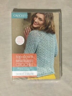 43d01c3022a8 TOP-DOWN SEAMLESS CROCHET Learn How To Sweaters that Fit with Doris ...