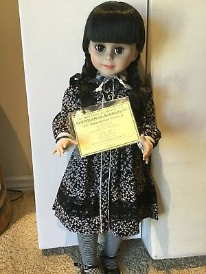 "Tonner Doll Co. Wednesdays Child 29"" Halloween Convention LE 50 COA + BOX MINT"