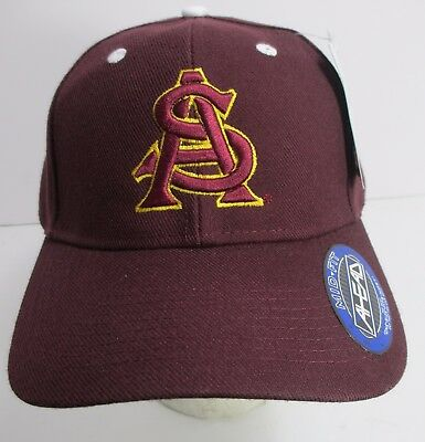 3e15570335c ARIZONA STATE UNIVERSITY ASU Sun Devils Hat Cap Embroidery NCAA New ...