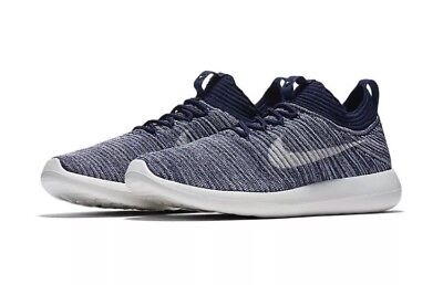 2afbe397f38e Womens Nike Roshe Two Flyknit V2 917688-400 College Navy Brand New Size 8