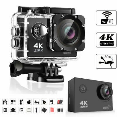 Sport 4K 16MP HD Sports Action Camera wifi Waterproof Helmet/Cam With Go/pro USA