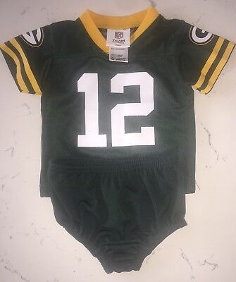 Green Bay Packers Aaron Rodgers Jersey & Bottom 3-6 Month