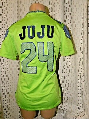 check out 57c62 caf12 NIKE SEATTLE SEAHAWKS #24 WOMENS JUJU Jersey ALTERNATE JERSEY Size L