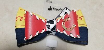 Disney Parks Toy Story Woody Jessie Interchangeable Bow NEW ITEM