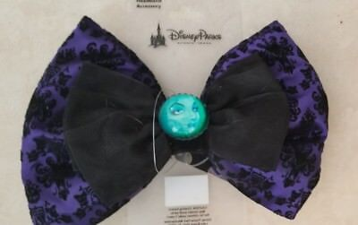 Disney Parks Haunted Mansion Madam Leota Interchangeable Bow NEW ITEM