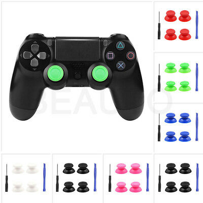 4X Replacement Controller Analog Thumbsticks Thumb Stick for Sony PS4 Controller