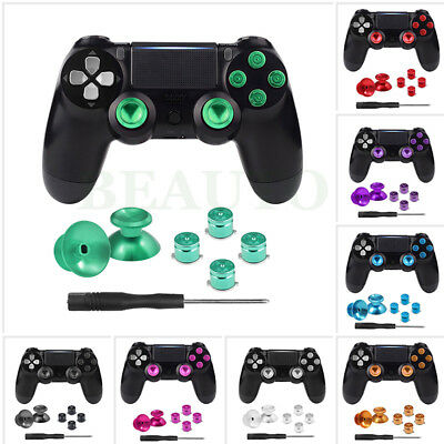 Aluminum Metal Buttons Analog Thumbstick Thumb Stick for PS4 Dualshock 4 Pro
