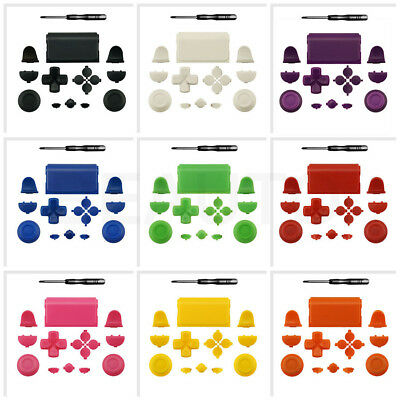 Solid Full Buttons Set for Sony PS4 Playstation 4 Controller Replacement Parts