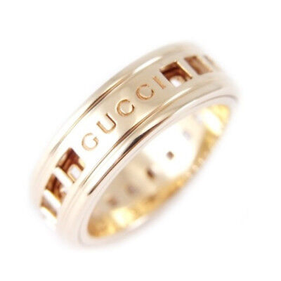df297007d ... Fine Jewelry Accessory 225985 I19A1 8061. $275.00 Buy It Now 3d 8h. See  Details. Auth GUCCI slip ring K18YG #4-4.5 #47 18K Yellow Gold Band 249395