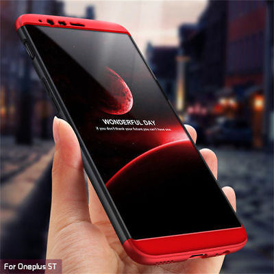 For OnePlus 6T 6 5T Shockproof 360° Full Protect Luxury Hybrid Armor Case Cover