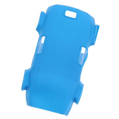 Lightweight Dustproof Silicone Body Cover Protective For DJI SPARK RC Blue