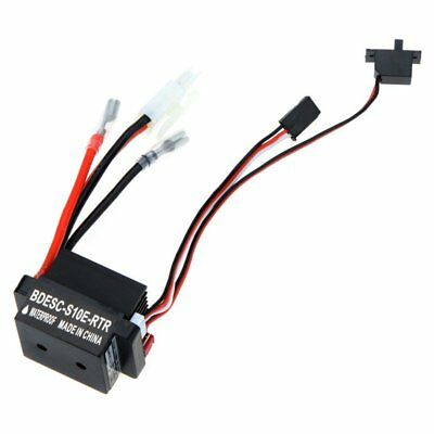 320A 6-12V Brushed ESC Speed Controller W/2A BEC for RC Boat U6L5 G7P5