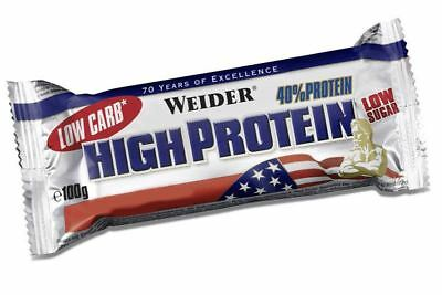 Weider Nutrition Low Carb High Protein Latte Macchiato Bar 100g (Pack of 10)