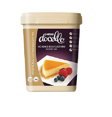 NESTLE DOCELLO NO BAKE EGG CUSTARD 2kg + SAUCE