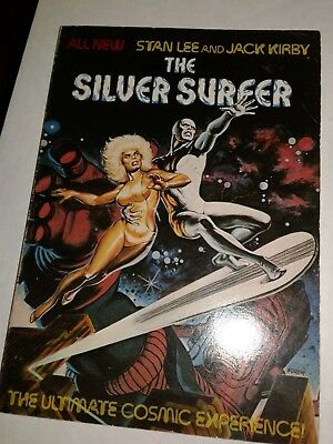 Silver Surfer rare Trade Ultimate Cosmic Experience Jack Kirby Stan Lee Marvel