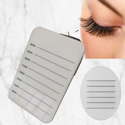 Eyelash Tray Strip Stand Extension Hand Palette Holder Lash Grafting Makeup Tool