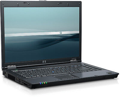"HP Compaq 8510P 15.4"" Intel Core 2 Duo 4GB Ram 160GB HDD Win7 HDMI DVD RW WIFI"