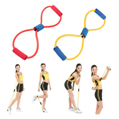 Gym Exercise Resistance Bands Set Yoga Fitness Workout Stretch Heavy Duty Tubes