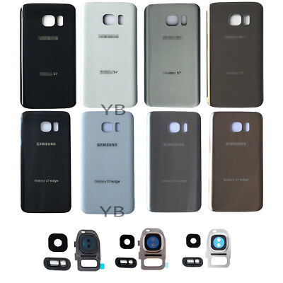 OEM Battery Cover Glass Housing Back Door Lens Cover For Samsung Galaxy S7/ edge