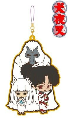 Movic Rumic Collection Inuyasha Pair Rubber Strap Charm Naraku Kanna Kagura NEW