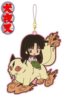 Movic Rumiko Rumic Collection Inuyasha Pair Rubber Strap Charm Sango & Kirara