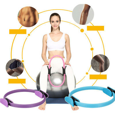 Pilates Fitness Yoga Gymnastik Widerstands Ring Circle Gym Sport Training Tool