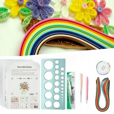 Paper Quilling Strip DIY Craft Tool Full Kit Handmake Work Handcraft Scrapbook