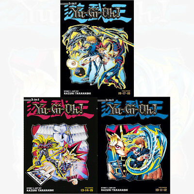 Yu Gi Oh TP Vol 4,5,6 (3 in 1 ) : 3 Books Collection Pack Set - Book 10 to 18 PB