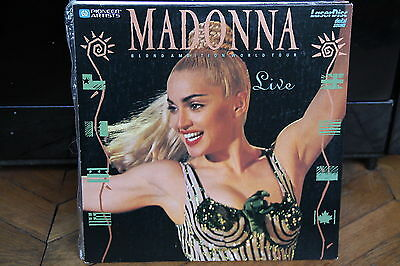 Madonna - BLOND AMBITION WORLD TOUR LIVE CLV - PAL LASERDISC REF : PLMPB 00041