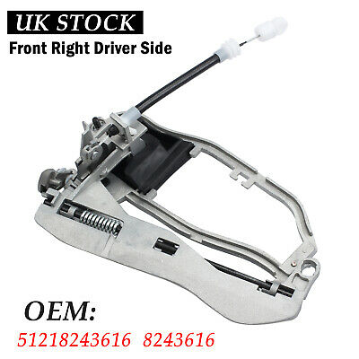 Door Handle Carrier For BMW X5 E53 Inner Front Right Driver Side 51218243616 UK