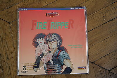 Rumik World: vol.1 Fire Tripper 1985 Laserdisc NTSC CLV ID2229CT As New Manga