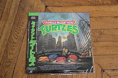 Teenage Mutant Ninja Turtles The Movie 1990 LASERDISC LD JAPAN NTSC OBI PILF7129