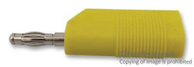 4Mm Plug Stackable Yellow - 25.403.3