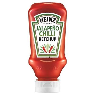 Heinz Jalepeno Chilli Ketchup 220ml - (PACK OF 4)
