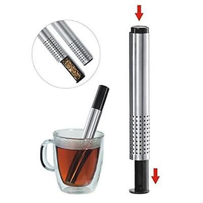 Useful Stainless Steel Loose Tea Infuser Stick Strainer Filter Diffuser Herbal C