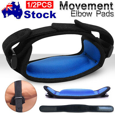 2pc Elbow Support Brace Adjustable Strap Band Tennis Golf Gym Forearm Protection