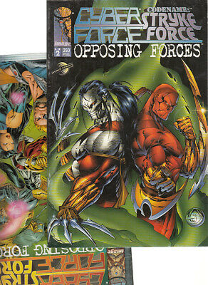 Cyber Force / Stryke Force : Opposing Forces ( Completa 2 Numeros ) Planeta.