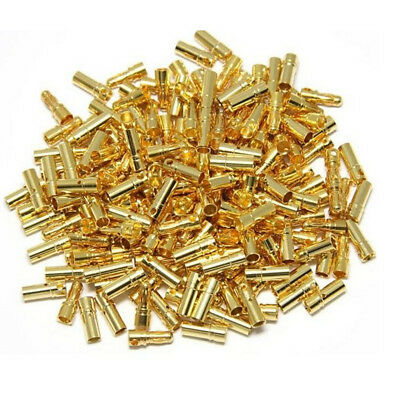 10Pairs/Set 2mm Bullet Banana Plug Wire Connector Tool for RC Battery PopCS